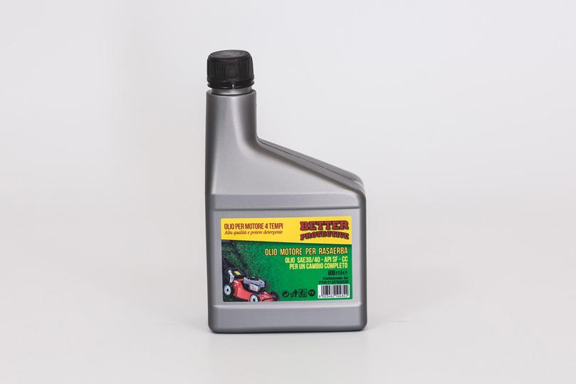 Olio motore 4tempi SAE 30 / 15W40 600 ml marchio BETTER PROTECTIVE