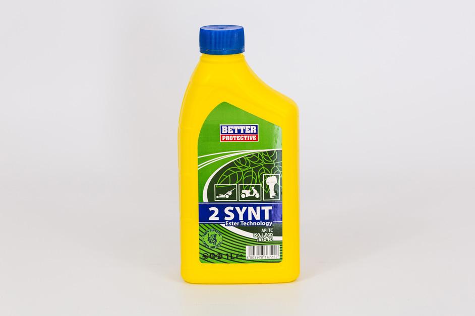 Olio miscela 2 TEMPI 100% sintetico 1litro marchio BETTER PROTECTIVE